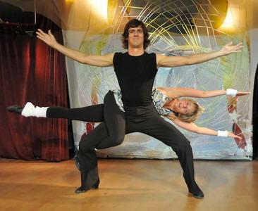 Осипов Антон, хастл, диско-хастл, акробатика в парных танцах