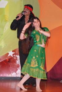 Мишель и Рима Шамо, народные танцы