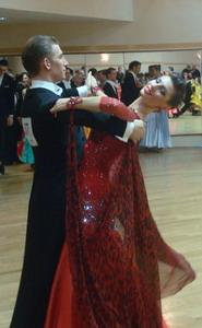 Воробьева Ксения. Бальные танцы
